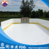 UHMWPE sliding board, indoor synthetic ice floor mat