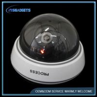 outdoor 360 degree rotating fake bullet cctv cameras