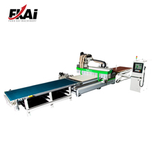 Wood Atc CNC Router Machine With Auto Loading Table