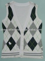Boy's Vest Button Cardigan Sweater