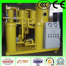 tya vacuum lubricant oil recycling machine/waste lubricating oil treatment