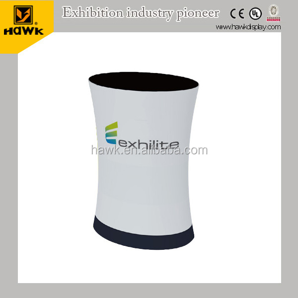 Portable Exhibition Tension Fabric Counter