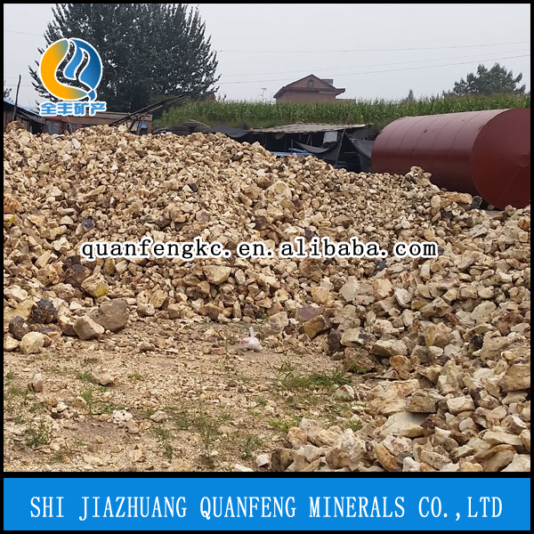 high alumina refractory calcined bauxite for sale
