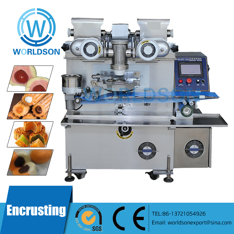 High Capacity CE Approved automatic encrusting and forming machine