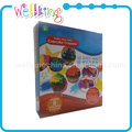 Imaginative set 3-in-1types of wax crayon for children
