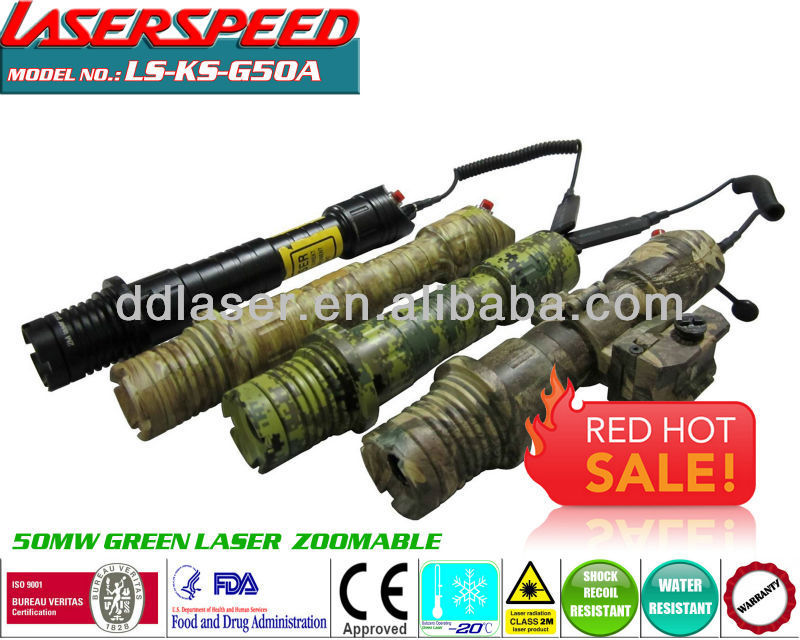 50mw LASER LIGHT/subzero outdoor hunting rifle mounted 50mw green light gun aiming accessories