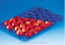 100% factory and best service 5LB,15LB beef tomato plastic trays popular in Mexico,Canada,Moroca maket