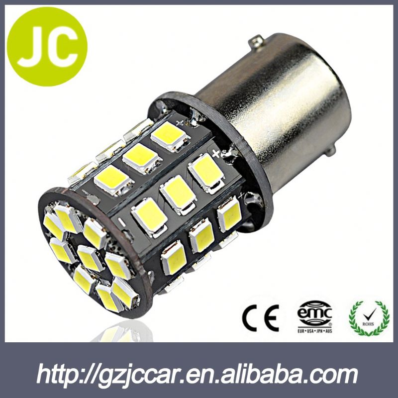 Vehicle accessory 12 months warranty 12v 24v auto 1157 bulb led for volvo fh