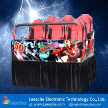 New Experience Electronic Game Indoor Playground 7D Cinema 5Dcinema