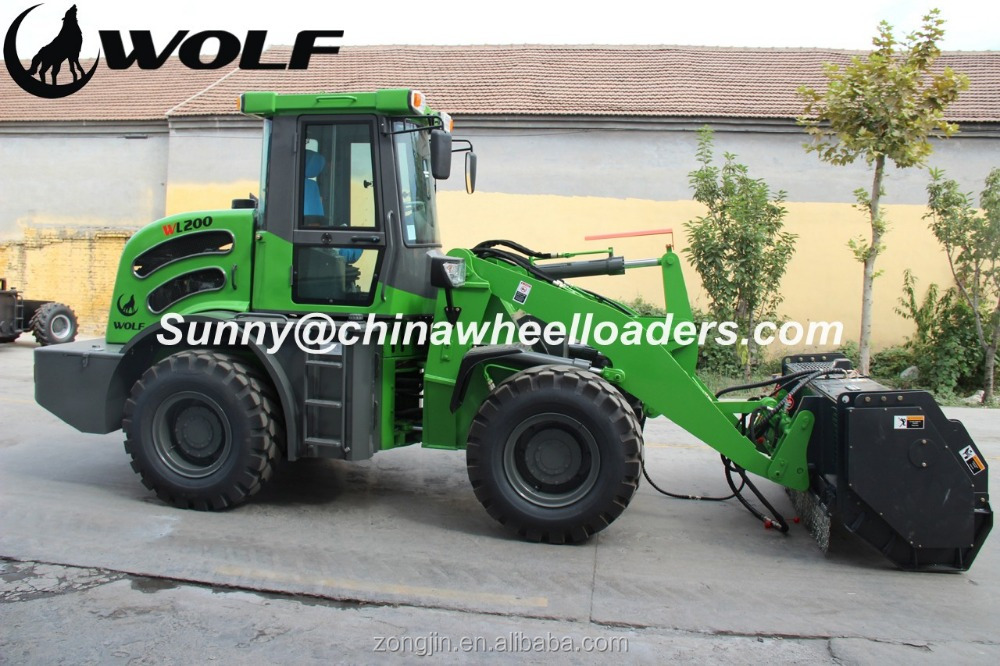 2 ton zl920 articulated avant mini wheel loader prices for sale made in china