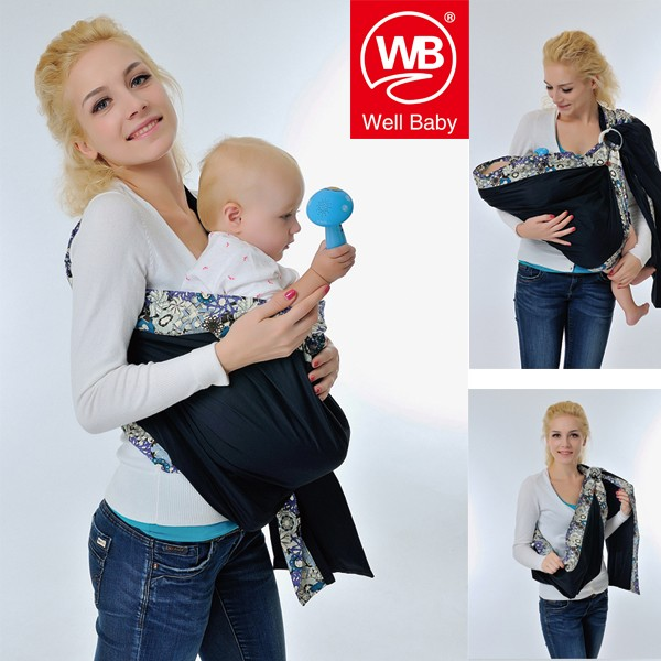 Stretch a ring buckle baby back towel towel bag strap baby sling multi-functional portable carrying holding/breast-feeding sling