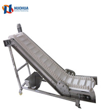 Industrial Adjustable Customized Waste Paper Meat Processing Incline Conveyor