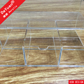 Clear Acrylic Tissue Box With Drawer