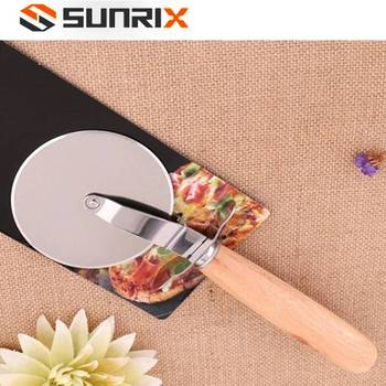 High Quality Kitchen Tool Stainless Steel Pizza Round Knife