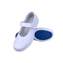 2017 casual high quality air sole ladies shoes white genuine leather nurse shoes women