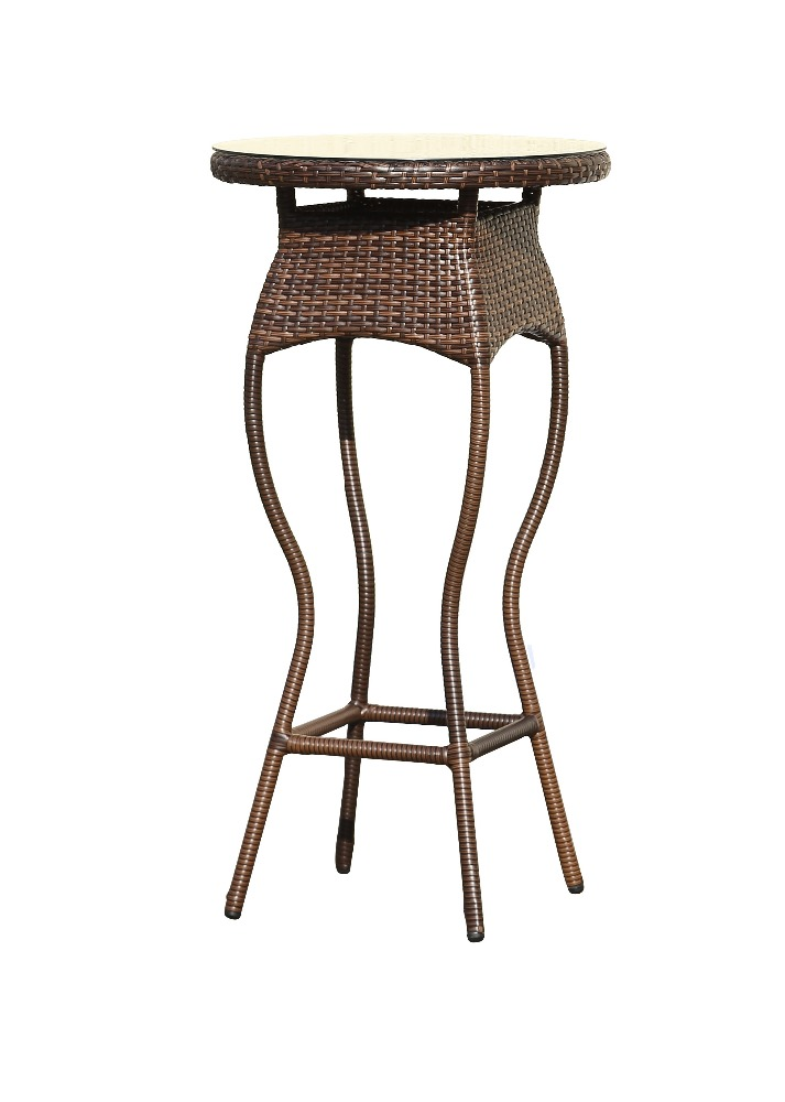 2015 new design cheap rattan wicker high bar table buy for Cheap long table