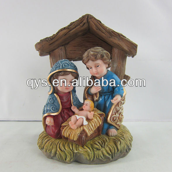Newest religious cribs set figurine