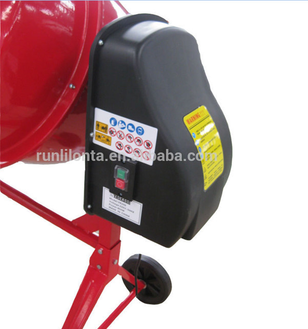 High quality and low price Mobile Electric Concrete mixer 375-850 W