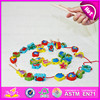 2015 New arrival cheap kids fishing game toy,Colorful children fishing pole toy,Christmas gift wooden string fishing toy W01A084