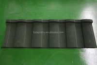 Stone coated steel roofing tiles made of Korean Union steel panel