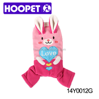 HOOPET rabbit pet clothing dog and cat clothes