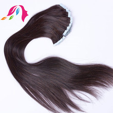 remy human hair private label virgin indian hair skin weft