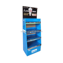 cardboard display shelf for tea watch jewelry and cosmetics display