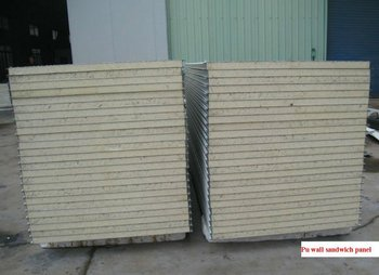PU sandwich panel for cold storage