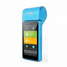 Wholesale Android Handheld POS machine with thermal printer barcode scanner/Android POS Terminal