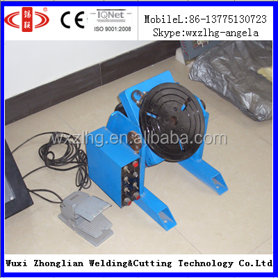 100kg (HBJ-01) china remote control welding turning table
