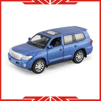 Licensed metal car Toyota model toy