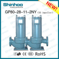 (GP80-28-11-2NY) STAINLESS STEEL IMPELLER STRUCTURAL STEEL TWO POLES FIRE WATER SUPPLY PUMP