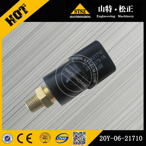 Excavator spare part on PC300-8 of switch 20Y-06-21710 pressure switch