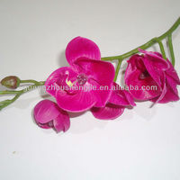 Sleek realistic factory direct artificial mini butterfly orchid latex orchid flower