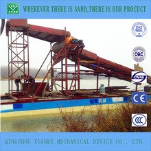 China efficient sand suction gold extraction machine