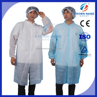 long PP cheap Disposable hospital lab coat