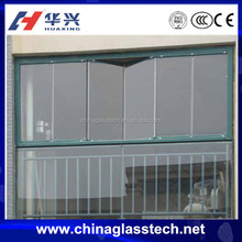 Novel Design Soundproof Customized Frameless Insulated Glass Folding Accordion Windows