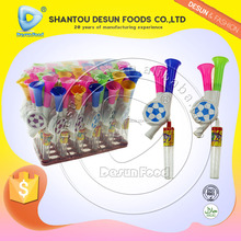 New trumpet toy candies with whistle