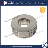 Wholesale Radial Magnetization Large NdFeB ring Magnets