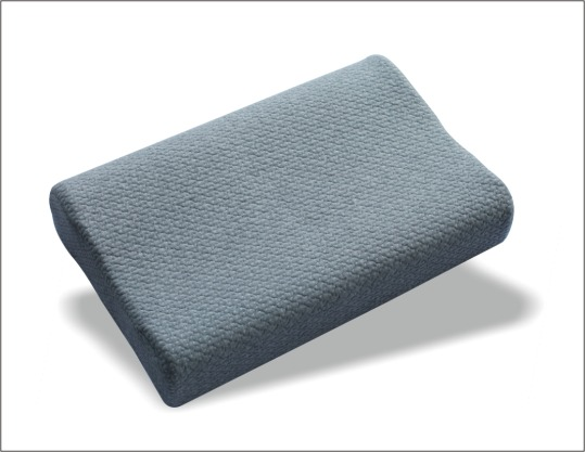 Memory foam bamboo charcoal pillow health comfortable neck pillow