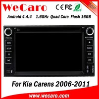 Wecaro WC-KU6782 Android 4.4.4 car dvd player for kia Carens 2006 - 2011 with radio 3G wifi playstore