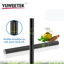 China manufacturer low price wholesale slim CE3 cbd oils vape pen disposable e cigarette 300 puffs by YuWeeTek