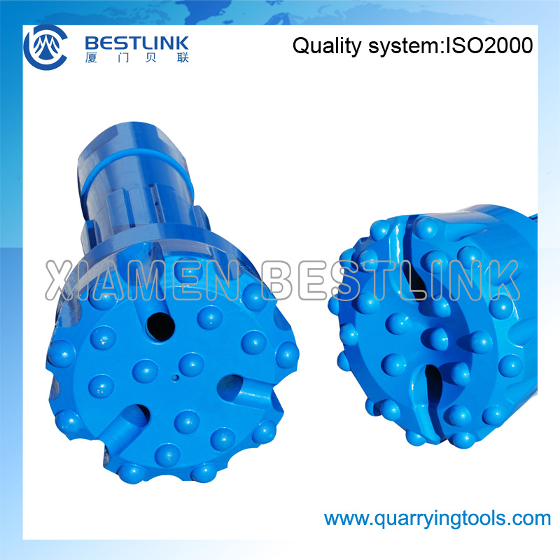 BESTLINK High Air Pressure Deep Hole Rotary Pneumatic Drilling DTH Down the hole Button Bit without foot valve