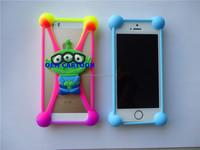 Great innovate Item universal 3D cartoon Silicone Bumper Cases Covers