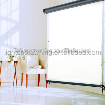 Indoor sunshade vertical awning roller blinds