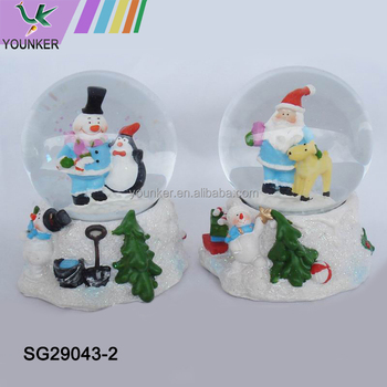 Christmas Craft Christmas Musical Snow Globe