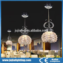 2015 Modern wedding decoration plastic chandeliers for hotel bar Restaurant decoration lighting