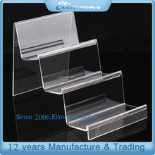 Factory Price 3 Tiers Mobile Phone Acrylic Display Stand Holder/Plexiglass Counter Display Rack