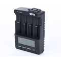 Low price easy read LCD five mode battery charger