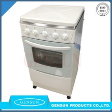 Quality home appliances free standing 20inch pizza gas stove with baking oven in China